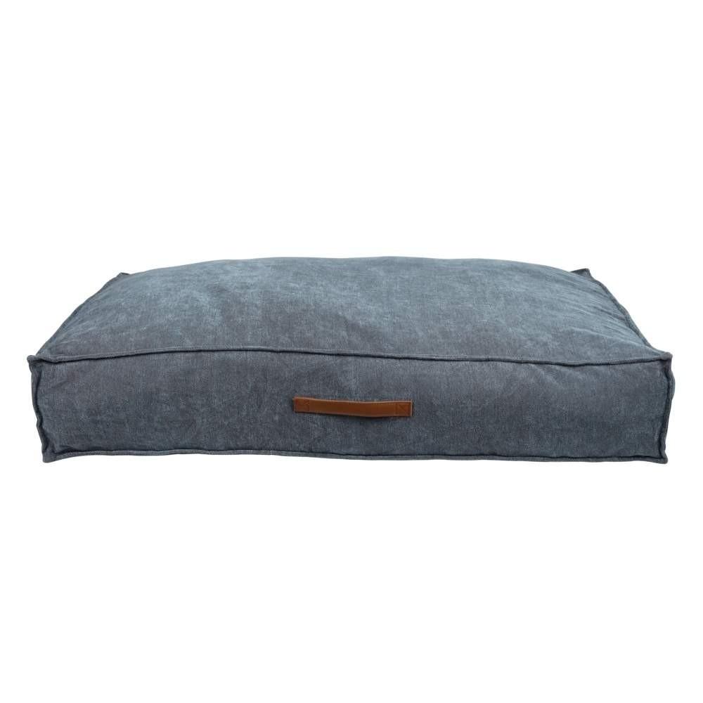 Ortopedisk hundmadrass för behaglig vila.