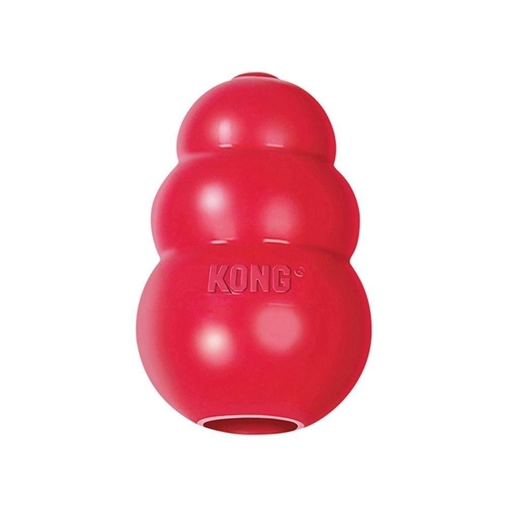 Klassisk aktiveringsleksak från Kong som går att frysa.