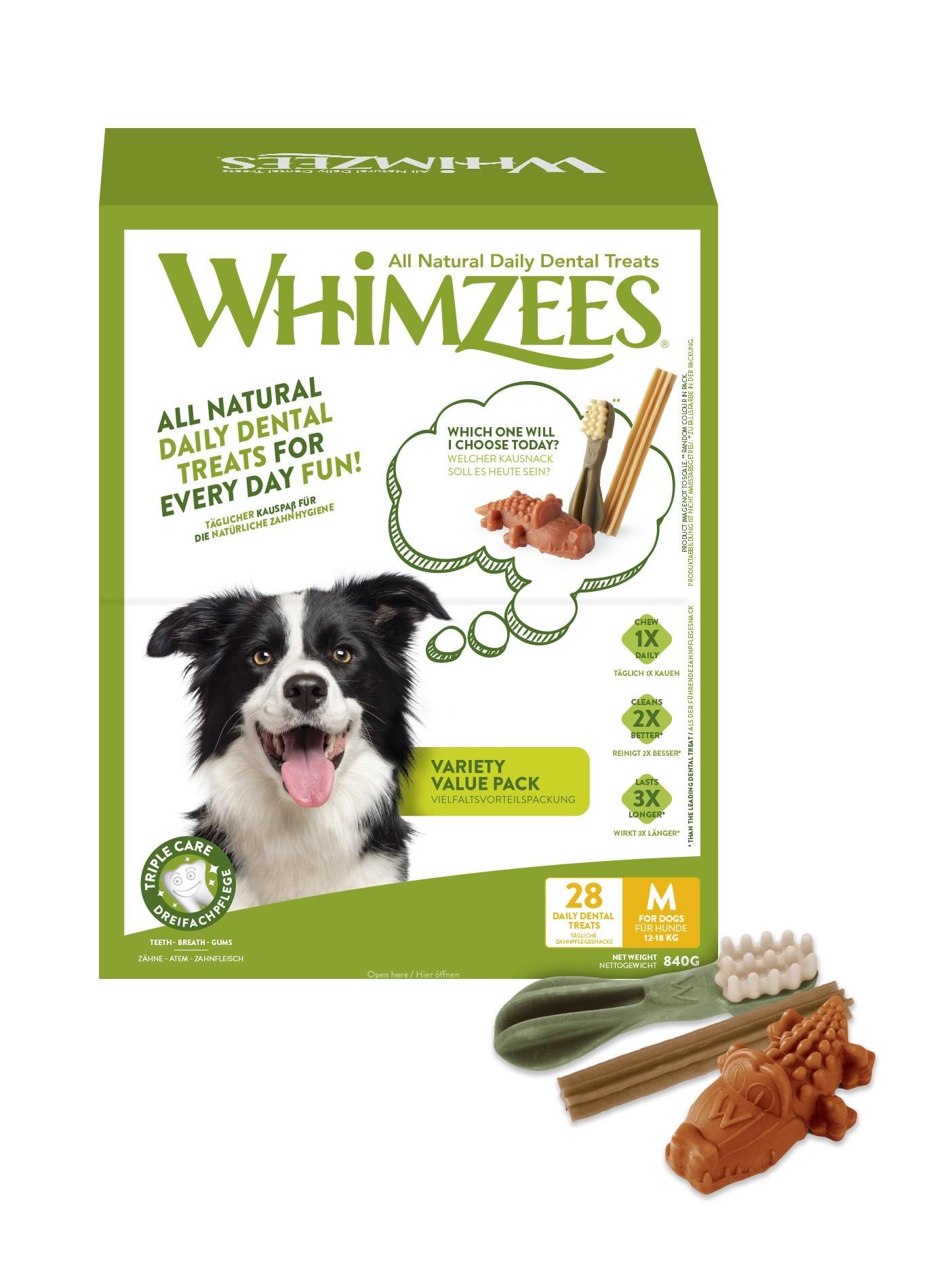Whimzees Variety box hundben